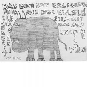 Leonhard Fink, Ein Esel in Ägypten, 2008