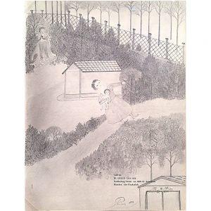 Otto Prinz, Mystischer Garten, undatiert