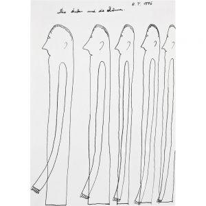Oswald Tschirtner, Die Dicken und die Dünnen, 1976