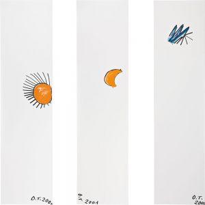 Oswald Tschirtner, Sonne, Mond, Stern, 2001