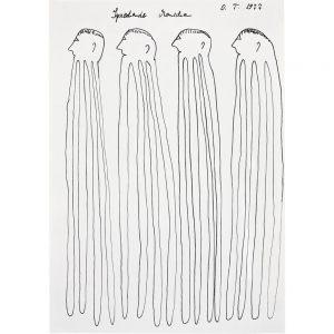 Oswald Tschirtner, Sprechende Menschen, 1977
